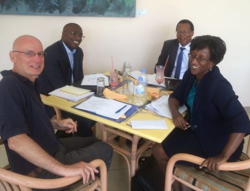 Project Director meets TMEA Country Director, PSF CEO and high level stakeholders during mission in Kigali, Rwanda