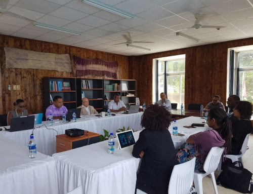EE kicks off project with Inception Mission in Port Vila
